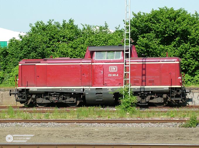 EfW 212 381 27.Mai 2005 Coesfeld